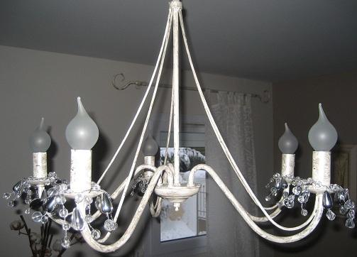 lustre pampilles inspirate. Black Bedroom Furniture Sets. Home Design Ideas